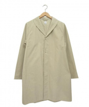 HERVIER PRODUCTIONS(エルヴィエプロダクションズ)の古着「ローブコート」 アイボリー