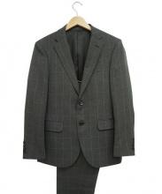 nano・universe(ナノユニバース)の古着「ウィンドウペン2Bスーツ」|グレー