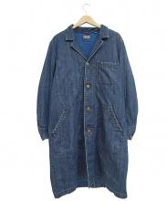BLUE BLUE(ブルーブルー)の古着「デニムショップコート」|インディゴ