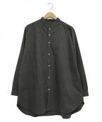 NO CONTROL AIR(ノーコントロールエアー)の古着「スタンドカラーロングシャツ」