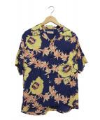 SUN SURF(サンサーフ)の古着「アロハシャツ」|パープル