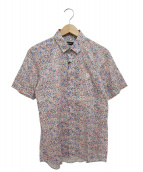 BLACK LABEL CRESTBRIDGE(ブラックレーベルクレストブリッジ)の古着「リバティプリント半袖シャツ」