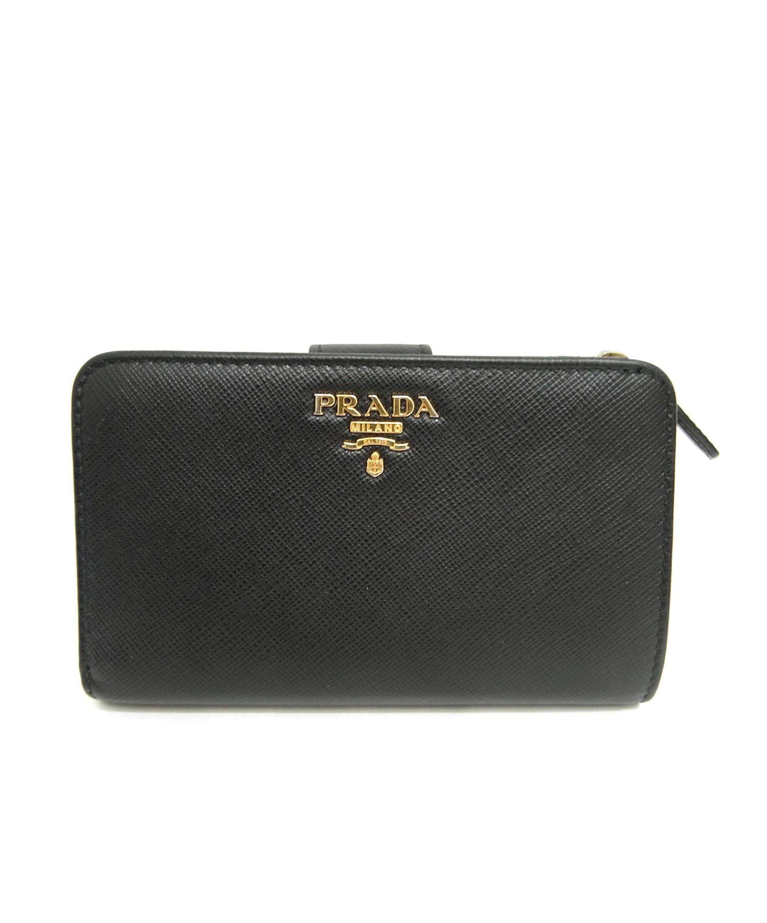 brand new bf58f 0b636 [中古]PRADA(プラダ)のレディース 服飾小物 2つ折り財布