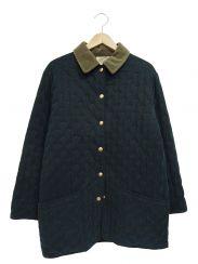 HERMES(エルメス)の古着「セリエボタンキルティングパドックコート」