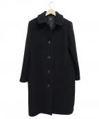 A.P.C(アーペーセー)の古着「ウールステンカラーコート」|ネイビー