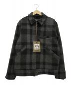 FILSON(フィルソン)の古着「マッキーノワークジャケット」|グレー×ブラック