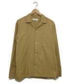 bunt(バント)の古着「オープンカラーシャツ」|イエロー