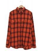 FILSON(フィルソン)の古着「チェックシャツ」|レッド