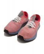 adidas(アディダス)の古着「ローカットスニーカー」|ブルー×レッド
