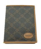 BALLY(バリー)の古着「2つ折り財布」 ブラウン×ブラック