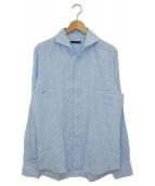 ESTNATION(エストネーション)の古着「リネンシャツ」|スカイブルー