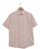 Grind London(グラインドロンドン)の古着「バックプリントシャツ」|ピンク