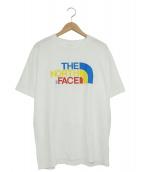 THE NORTH FACE(ザノースフェイス)の古着「ロゴTシャツ」|ホワイト