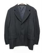 COMME des GARCONS HommePlus(コムデギャルソンオムプリュス)の古着「90's3Bテーラードジャケット」 ブラック