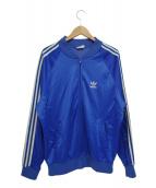 adidas(アディダス)の古着「80sヴィンテージトラックジャケット(ATPジャージ)」|ブルー