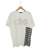 COMME des GARCONS×ANTI SOCIAL SOCIAL CLUB(コムデギャルソン×アンチソーシャルソーシャル クラブ)の古着「プリントTシャツ」|ホワイト