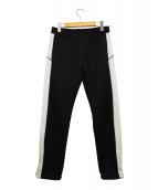 FACETASM(ファセッタズム)の古着「サイドライントラックパンツ」|ブラック