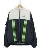 adidas(アディダス)の古着「[古着]90sナイロンジャケット」|ホワイト