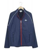 LACOSTE SPORT(ラコステスポーツ)の古着「ナイロントラックジャケット」|ネイビー