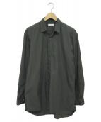 EN ROUTE(アンルート)の古着「比翼シャツ」|グレー