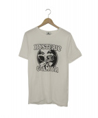 Hysteric Glamour(ヒステリックグラマー)の古着「プリントTシャツ」|ホワイト