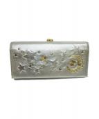 ANNA SUI(アナスイ)の古着「3つ折り財布」|シルバー