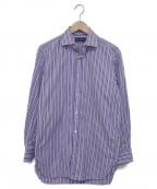 RALPH LAUREN PurpleLabel(ラルフローレンパープルラベル)の古着「長袖ドレスシャツ」|パープル