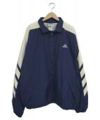 adidas(アディダス)の古着「[古着]90sナイロンジャケット」|ネイビー