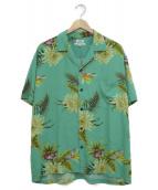 TWO PALMS(トゥーパームス)の古着「アロハシャツ」|グリーン