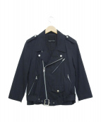 LAD MUSICIAN(ラッドミュージシャン)の古着「ライダースジャケット」|ブラック
