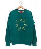 Supreme(シュプリーム)の古着「サークルロゴクルーネックスウェット」|グリーン