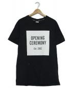 OPENING CEREMONY(オープニングセレモニー)の古着「プリントTシャツ」 ホワイト×ブラック
