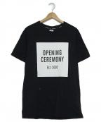 OPENING CEREMONY(オープニングセレモニー)の古着「プリントTシャツ」|ホワイト×ブラック