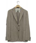FUGATO×SHIPS(フガート×シップス)の古着「3Bテーラードジャケット」|ベージュ