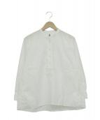 MHL.(エムエイチエル)の古着「コットンブラウス」|ホワイト