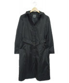 Calvin Klein(カルバンクライン)の古着「ライナー付トレンチコート」|ブラック