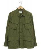 YAECA(ヤエカ)の古着「ファティーグジャケット」|グリーン