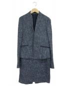 icB(アイシービ)の古着「セットアップスーツ」|ブルー