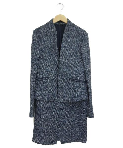 icB(アイシービー)icB (アイシービ) セットアップスーツ ブルー サイズ:11の古着・服飾アイテム