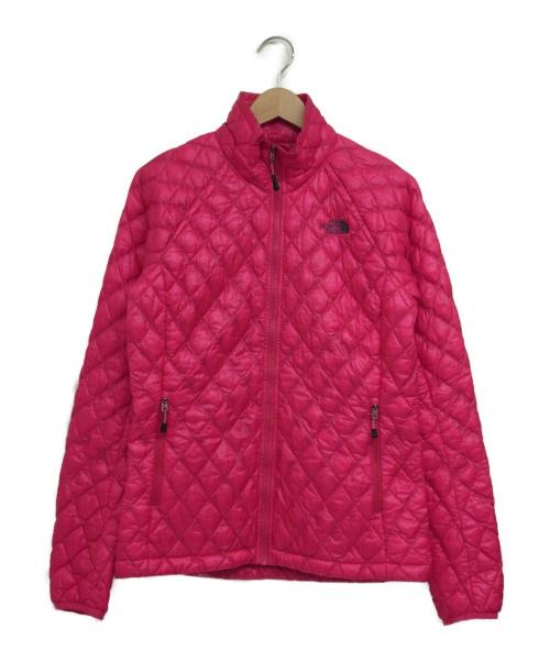 THE NORTH FACE(ザノースフェイス)THE NORTH FACE (ザノースフェイス) ダウンジャケット ピンク サイズ:Sの古着・服飾アイテム
