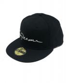 Supreme(シュプリーム)の古着「クラシックスクリプトニューエラ」|ブラック