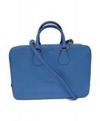 BALLY(バリ)の古着「2WAYショルダーバッグ」|ブルー