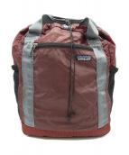 Patagonia(パタゴニア)の古着「ライトウェイトトラベルトートバッグ」 ボルドー