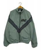 US ARMY(ユーエスアーミー)の古着「ナイロンジャケット」|グレー