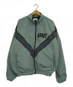 US ARMY(ユーエスアーミー)の古着「ナイロンジャケット」 グレー
