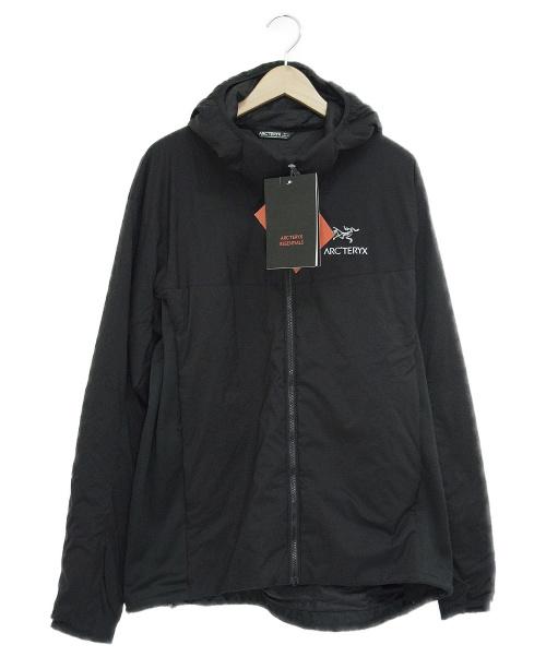 ARCTERYX(アークテリクス)ARCTERYX (アークテリクス) アトムLTフーディ ブラック サイズ:L 未使用品 Atom LT Hoody 24477の古着・服飾アイテム