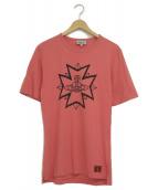 Vivienne Westwood man(ヴィヴィアンウエストウッドマン)の古着「ロゴTシャツ」|ピンク