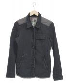 PRADA(プラダ)の古着「ミリタリージャケット」|ネイビー