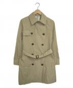 LA MARINE FRANCAISE(マリンフランセーズ)の古着「トレンチコート」|ベージュ