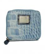 cocco fiore(コッコフィオーレ)の古着「コインカードケース」|ブルー